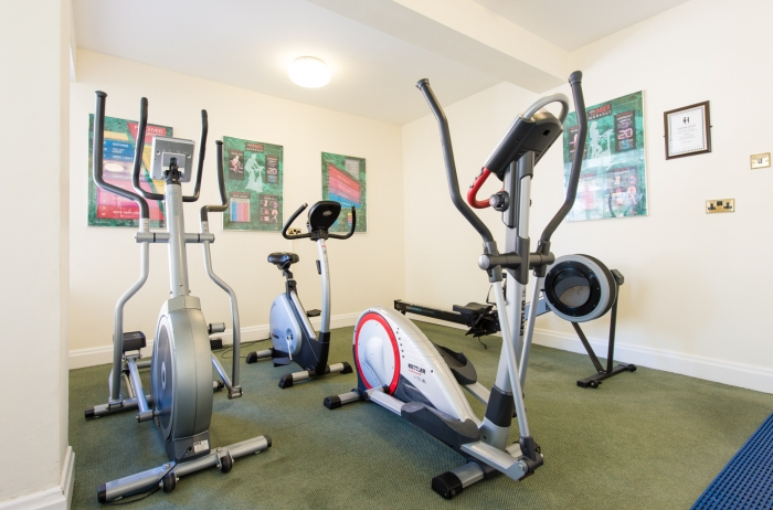 Cardio equipment for guest use