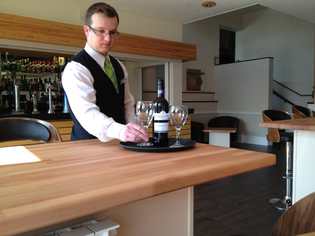 The Norfolk Lodge Hotel bar