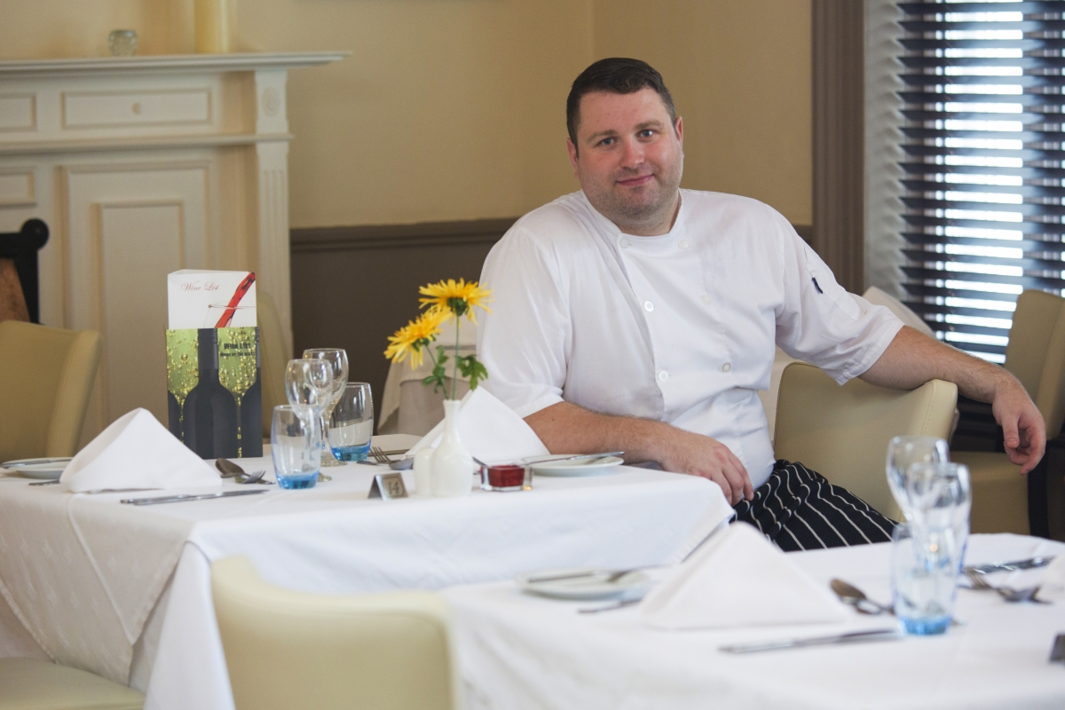 Head Chef Rob Scott